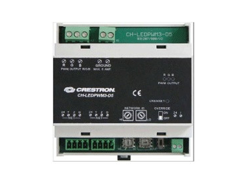 crestron ch ledpwm3 d5 3 channel led control module